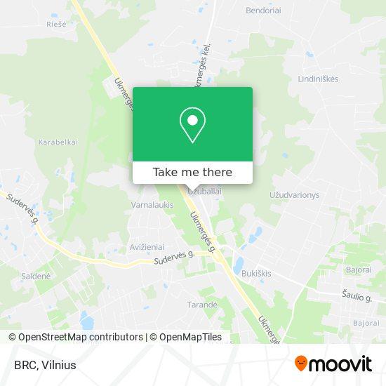 BRC map
