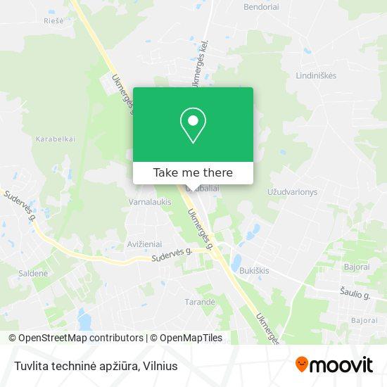 Tuvlita techninė apžiūra map