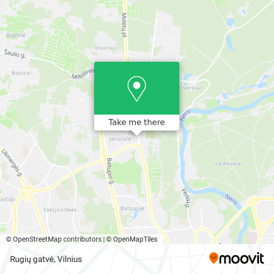 Rugių gatvė map