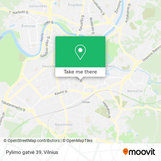 Pylimo gatvė 39 map