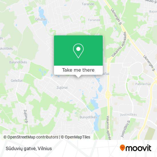 Sūduvių gatvė map