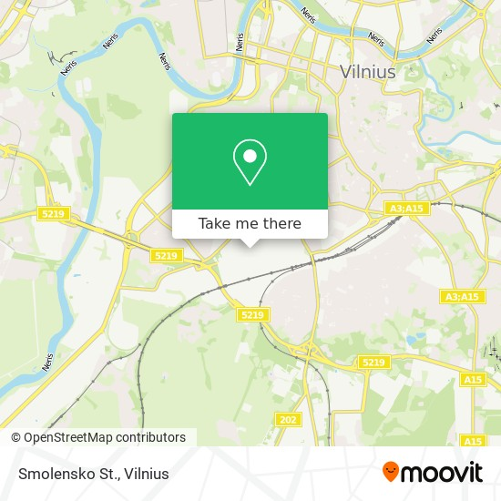 Smolensko St. map