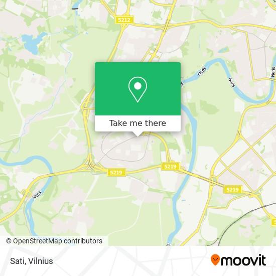 Sati map