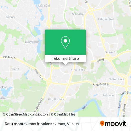 Ratų montavimas ir balansavimas map
