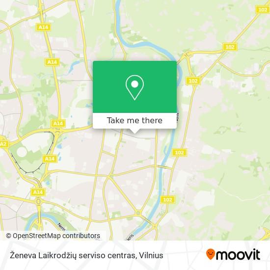 Ženeva Laikrodžių serviso centras map