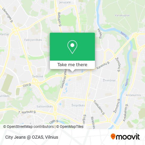 City Jeans @ OZAS map