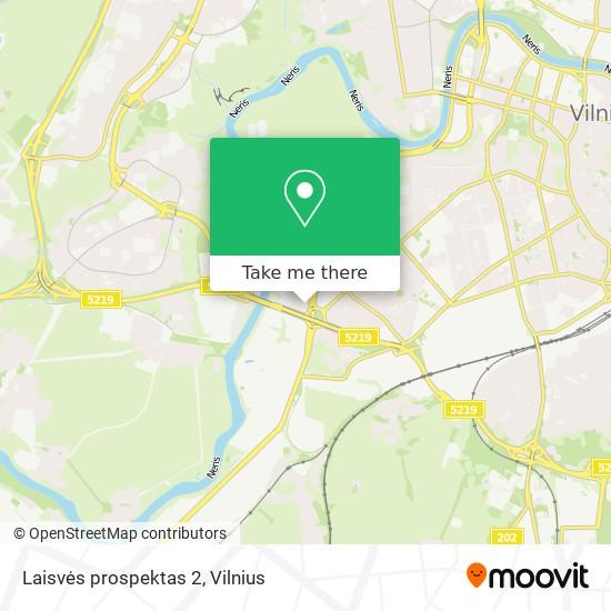 Laisvės prospektas 2 map