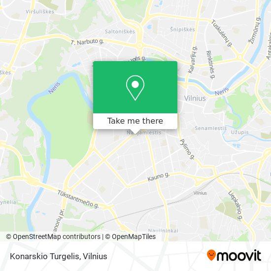 Konarskio Turgelis map