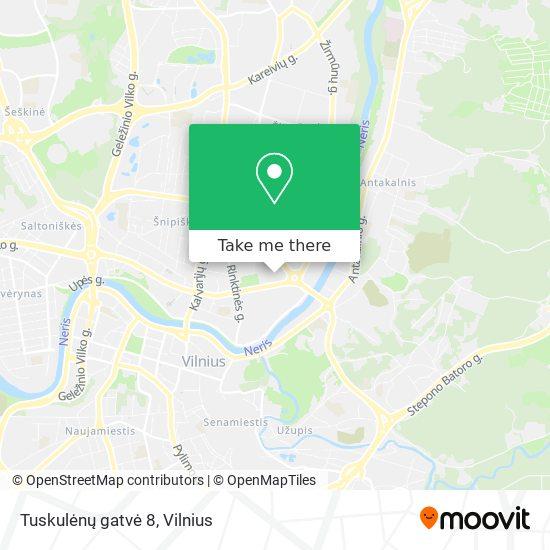 Tuskulėnų gatvė 8 map