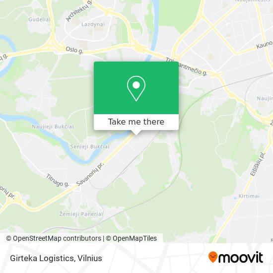 Girteka Logistics map