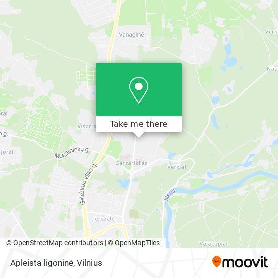 Apleista ligoninė map