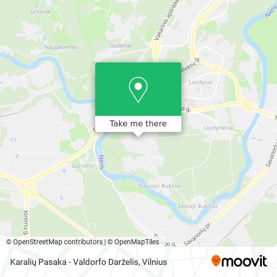 Karalių Pasaka - Valdorfo Darželis map