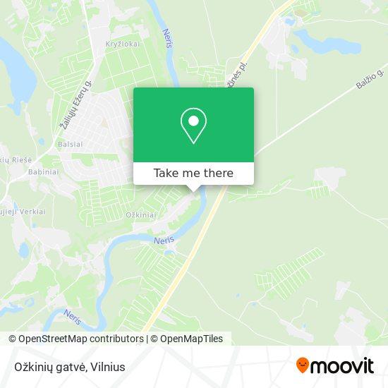 Ožkinių gatvė map