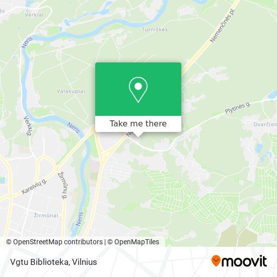 Vgtu Biblioteka map