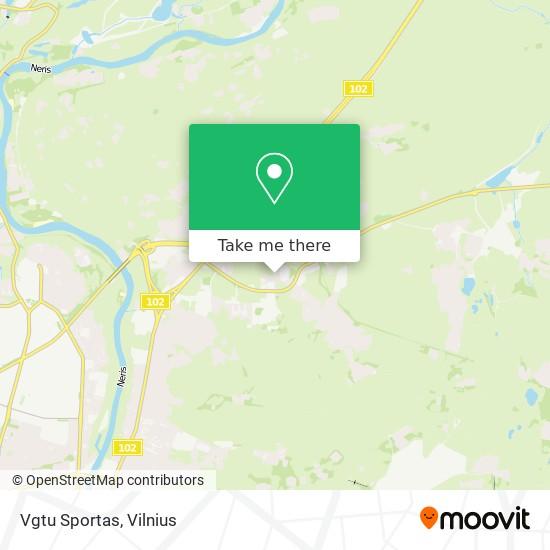 Vgtu Sportas map
