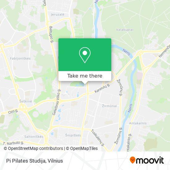 Pi Pilates Studija map