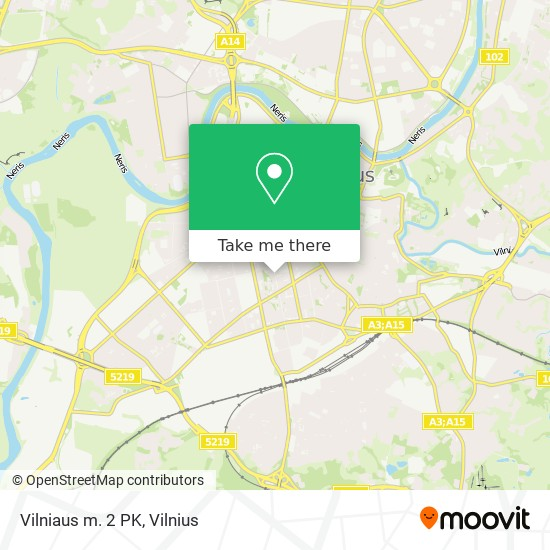 Vilniaus m. 2 PK map