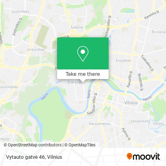 Vytauto gatvė 46 map