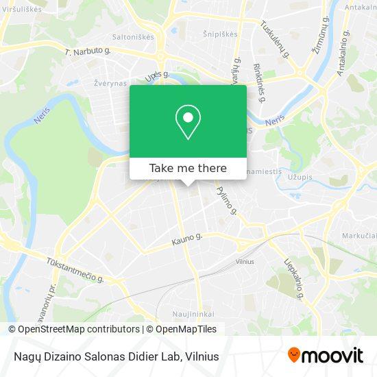 Nagų Dizaino Salonas Didier Lab map