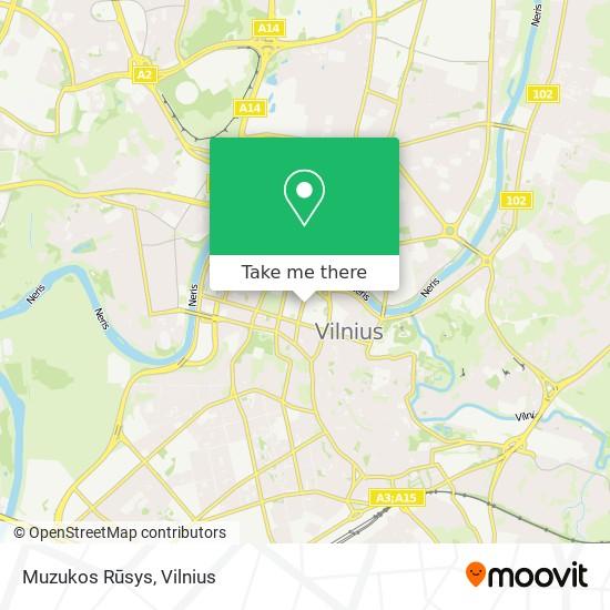 Muzukos Rūsys map