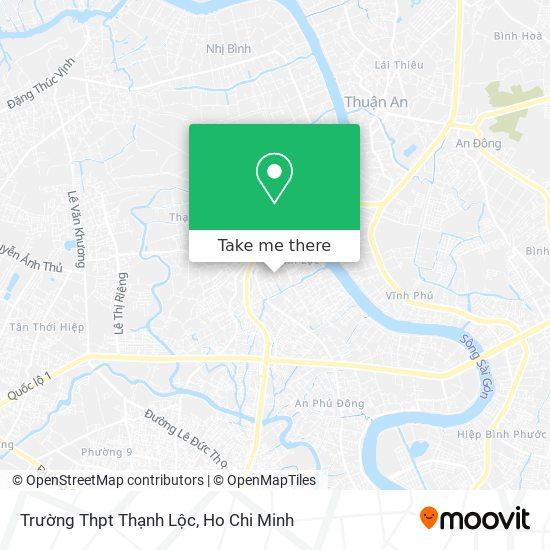 Trường Thpt Thạnh Lộc map