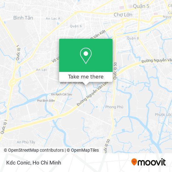Kdc Conic地圖