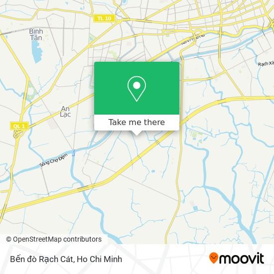 Bến đò Rạch Cát地圖