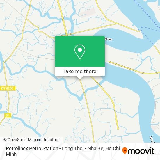 Petrolinex Petro Station - Long Thoi - Nha Be map