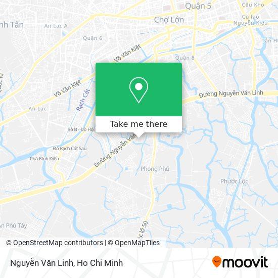 Nguyễn Văn Linh地圖