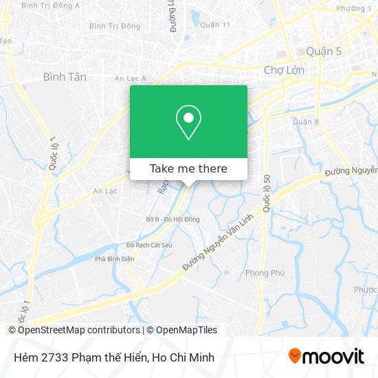 Hẻm 2733 Phạm thế Hiển地圖