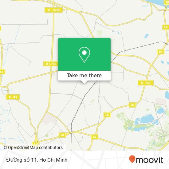 Đường số 11 map