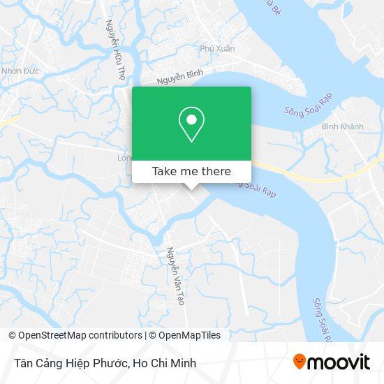 Tân Cảng Hiệp Phước map