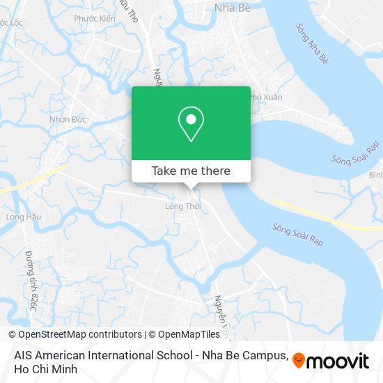 AIS American International School - Nha Be Campus map