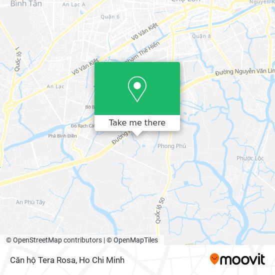 Căn hộ Tera Rosa地圖