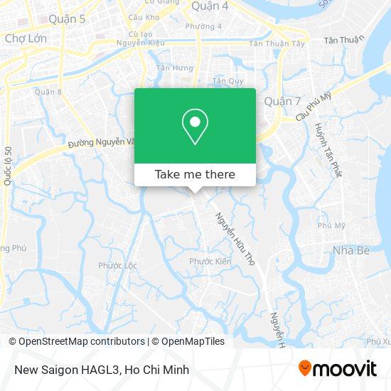 New Saigon HAGL3 map