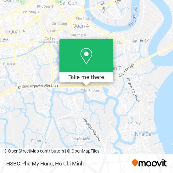 HSBC Phu My Hung map