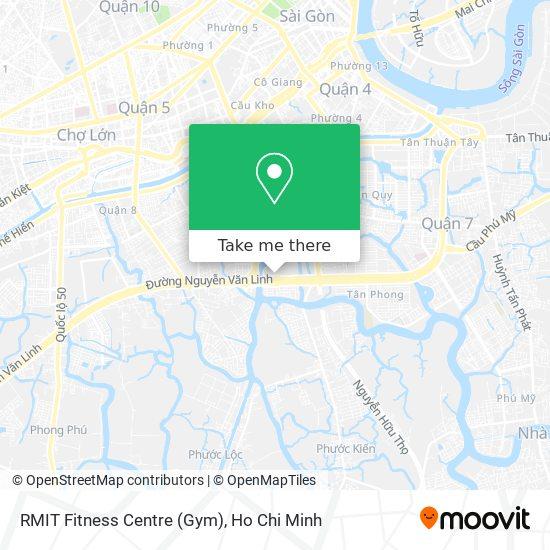 RMIT Fitness Centre (Gym) map