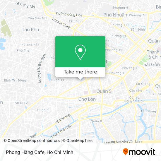 Phong Hằng Cafe map
