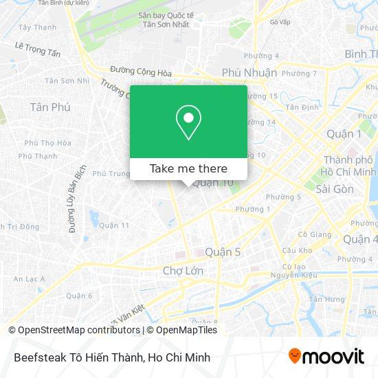 Beefsteak Tô Hiến Thành map