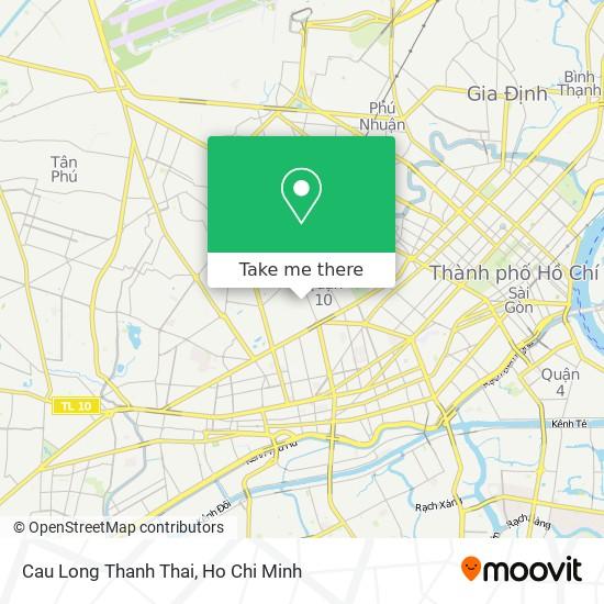 Cau Long Thanh Thai map