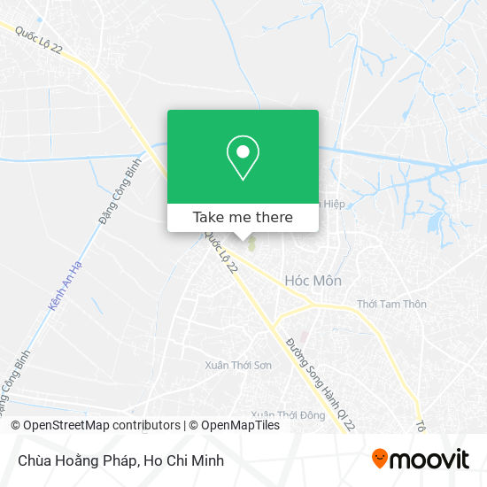 Chùa Hoằng Pháp map