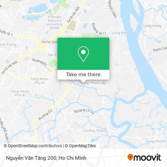 Nguyễn Văn Tăng 200 map
