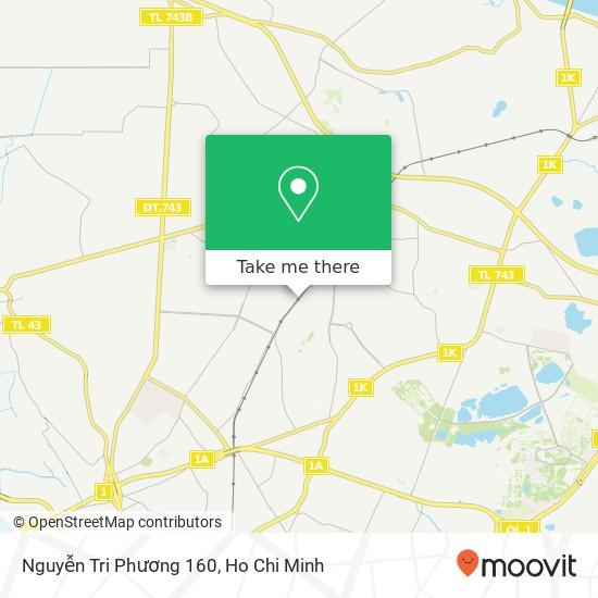 Nguyễn Tri Phương 160 map