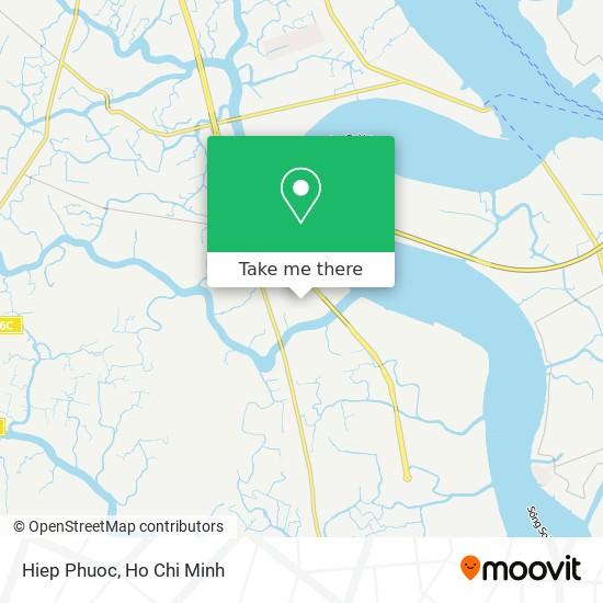 Hiep Phuoc map