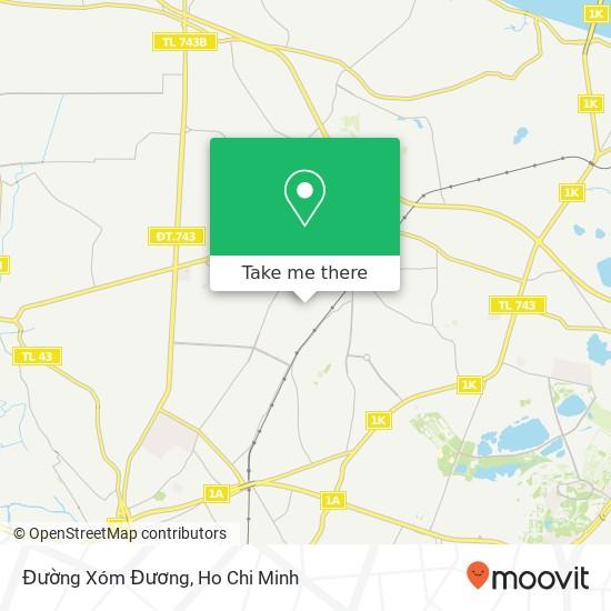 Đường Xóm Đương map