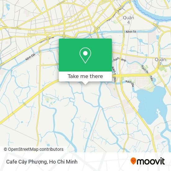 Cafe Cây Phượng地圖