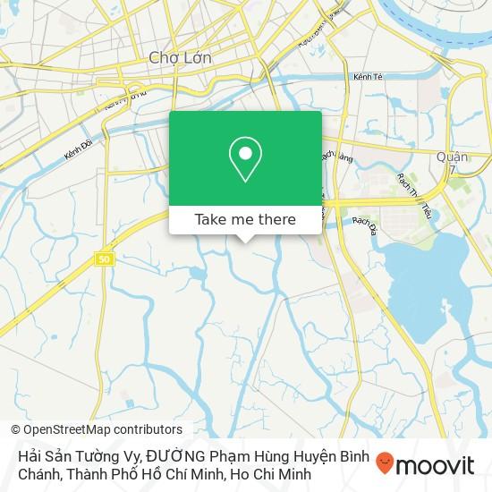 Hải Sản Tường Vy, ĐƯỜNG Phạm Hùng Huyện Bình Chánh, Thành Phố Hồ Chí Minh地圖