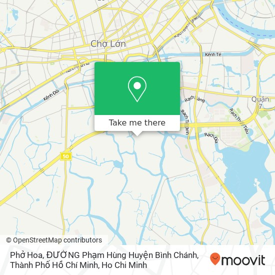 Phở Hoa, ĐƯỜNG Phạm Hùng Huyện Bình Chánh, Thành Phố Hồ Chí Minh地圖