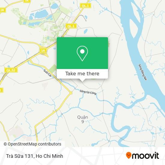 Trà Sữa 131 map