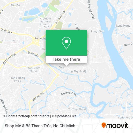 Shop Mẹ & Bé Thanh Trúc map